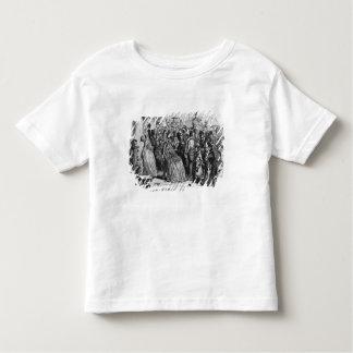 Kommande hem från kyrka t-shirt