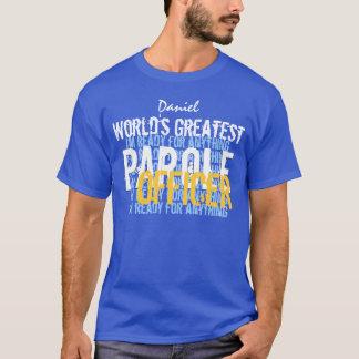 KOMMENDERAR mest underbar PAROLE för världar T Shirt