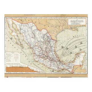Kommunikation och transport av Mexico Vykort