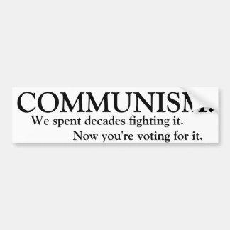 Kommunism Bildekal