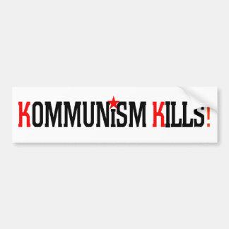 Kommunism dödar bildekalet bildekal