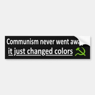 Kommunism gick aldrig bort… bildekal