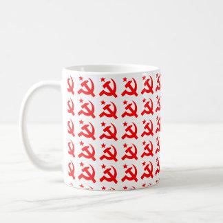 Kommunism undertecknar av bultar vektorn kaffemugg