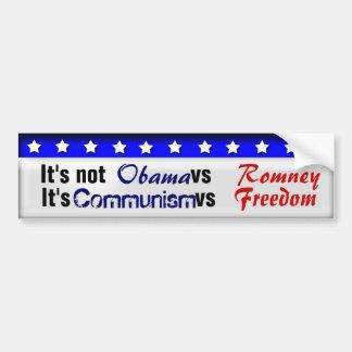 Kommunism vs frihet bildekal