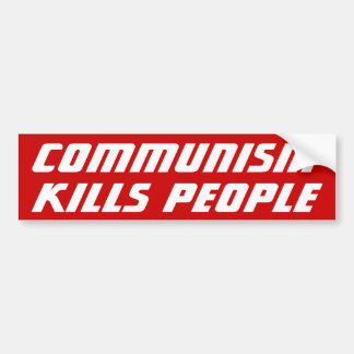 Kommunismdödor Bildekal