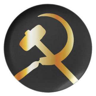 Kommunismsymbol Tallrik