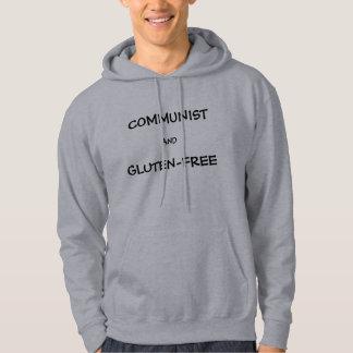 Kommunistisk OCH Gluten-Fri skjorta Tröja Med Luva