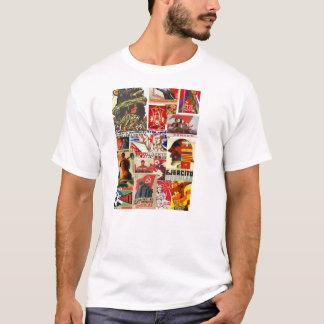 kommunistisk propagandat-skjorta t-shirts