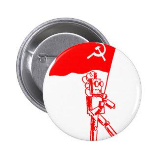 Kommunistisk robot pins