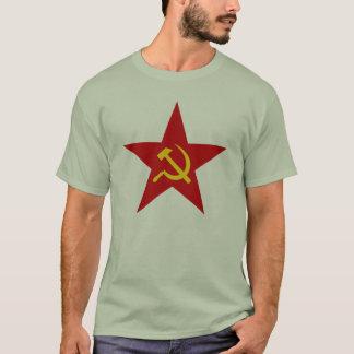 Kommunistisk röd t-skjorta för stjärna (bulta & t-shirt