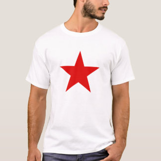 Kommunistiska röda stjärnamanar t-skjorta tee