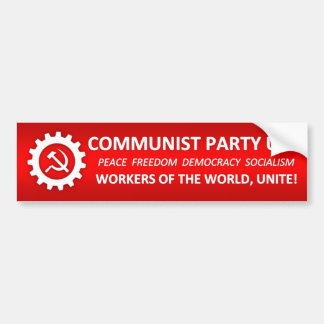 KommunistpartiUSA bildekal