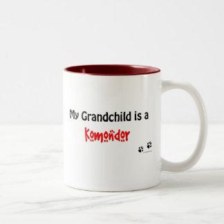 Komondor barnbarn Två-Tonad mugg