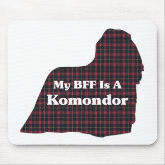 Komondor BFF gåvor Musmatta