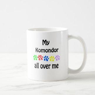 Komondor går design kaffemugg