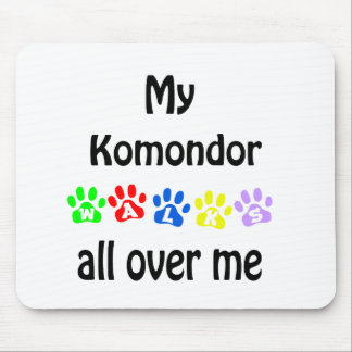 Komondor går design musmatta