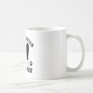 Komondor hund avelndesigner kaffemugg