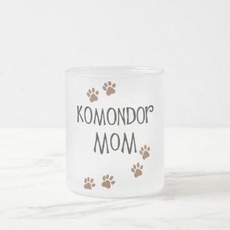 Komondor mamma frostad glasmugg