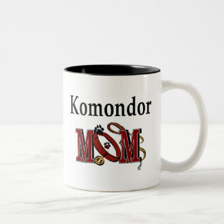 Komondor mammamugg Två-Tonad mugg