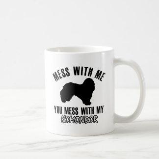 komondordesigner kaffemugg