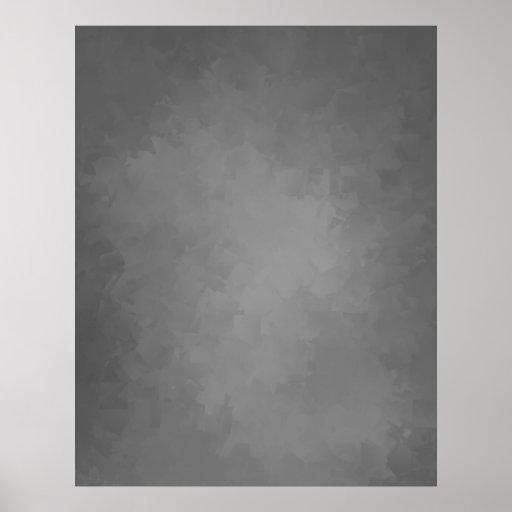 KOMPAKT FOTOBAKGRUND - grå Cubism Affischer