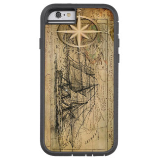 Kompass & frakt tough xtreme iPhone 6 skal