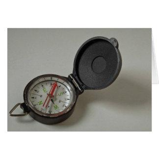Kompass Hälsningskort