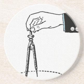 Kompass mathhjälpmedel underlägg sandsten