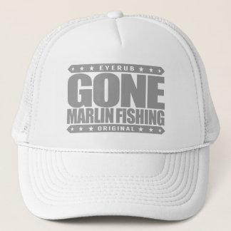 Kompetent och stolt fiskare för BORTA MARLINFISKE Keps