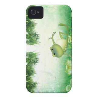 Kompis för fodral för träskgrodablackberry bold iPhone 4 Case-Mate skydd