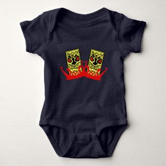 Kompisar för babyJersey bodysuit-Tiki T-shirt