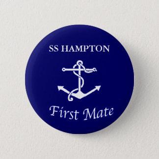 Kompisen för frakter knäppas först standard knapp rund 5.7 cm