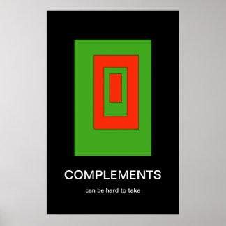 KomplementDemotivational affisch