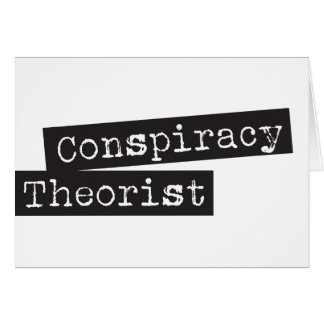 KomplottTHEORIST Hälsningskort