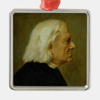 Kompositören Franz Liszt, 1884 Julgransprydnad Metall