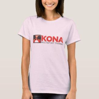 Kona damer passade w-/redlogotypen t-shirts