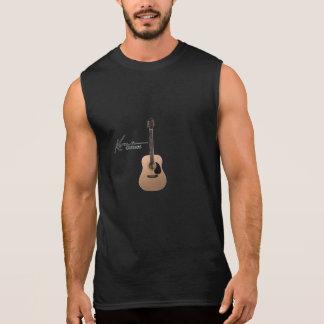 Kona gitarrer sleeveless tröja
