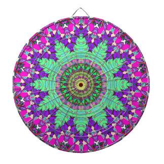 Koncentrisk blom- symmetri piltavla