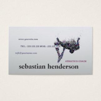 Kondition för sport för idrottsman för visitkort