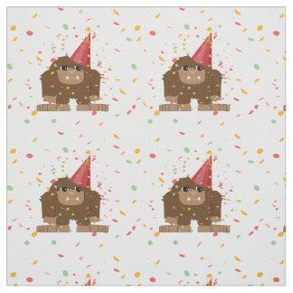 Konfettiparty Sasquatch Bigfoot