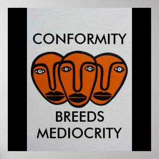 Konformism 2 poster