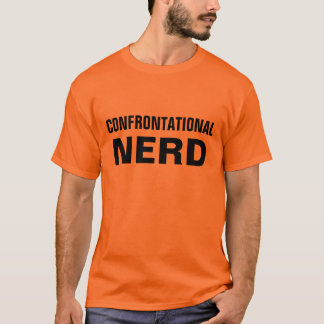 konfrontations- nerd t shirts