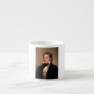Kongressledamot Davy Crockett vid Chester Harding Espressomugg