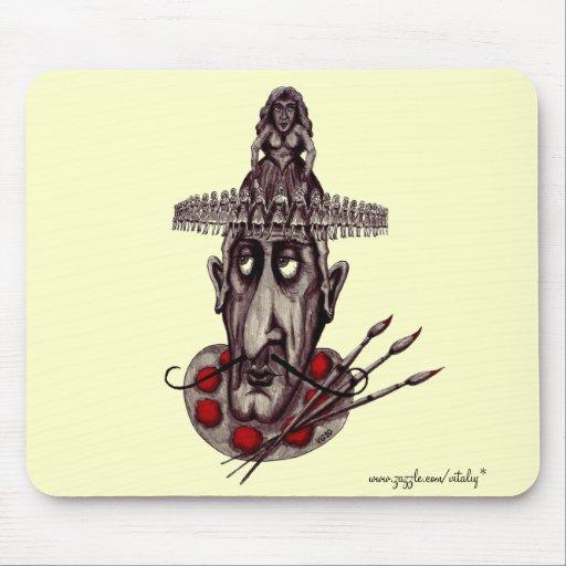 Konst av mousepad för coola för kärlekabstraktgraf musmattor