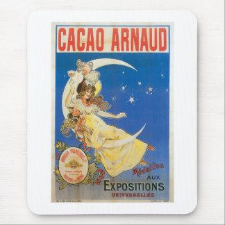 Konst för annons för drink för choklad för musmatta