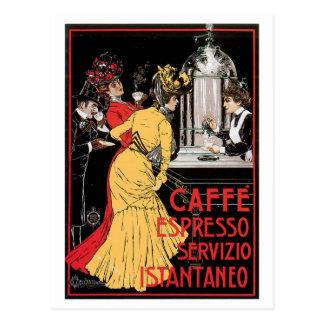 Konst för annons för drink för kaffe för Caffe Vykort