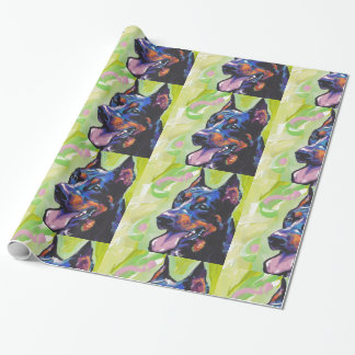 konst för beauceronhundpop presentpapper