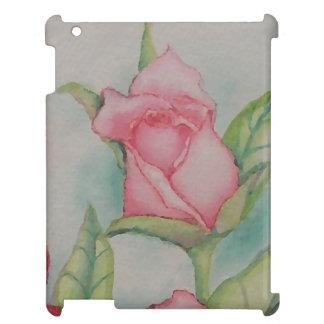Konst för blommigt för rosenknopp för CricketDiane iPad Mobil Fodral