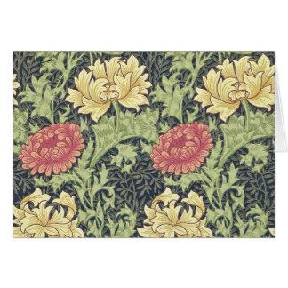 Konst för blommigt för William Morris OBS Kort
