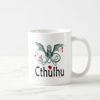 Konst för Cthulhu fasavektor Kaffemugg